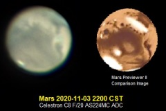 Mars 2020/11/03 2200